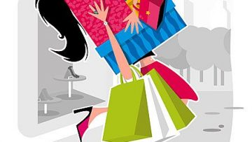 cartoon_lady_and_shopping_bags